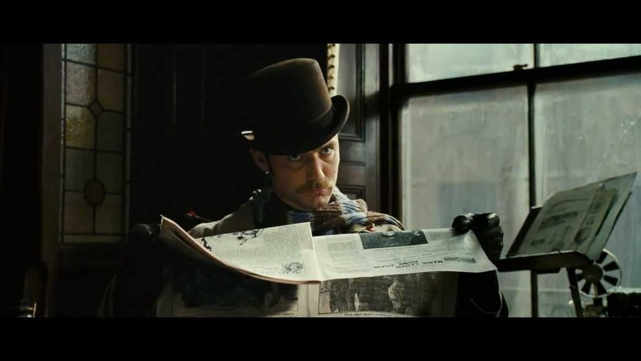 Sherlock Holmes 2 Skyggespillet - Trailer (DK)
