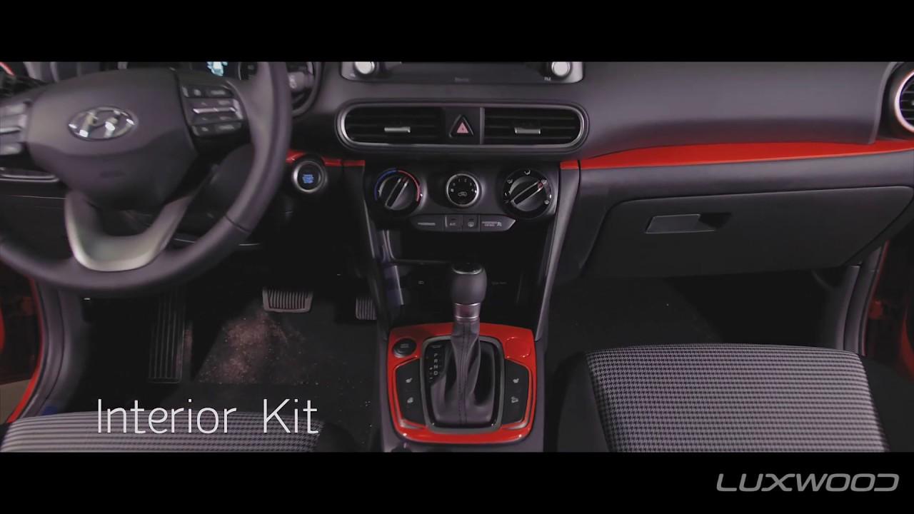 Hyundai Kona 10 - Luxwood Design Accessories Highlight