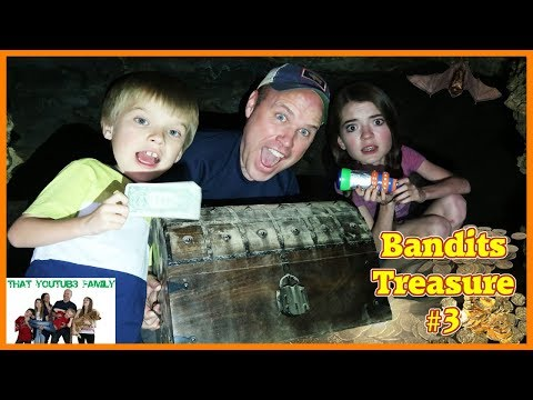 Treasure Hunt - Search For The Bandits Cash Part Three / That YouTub3 Family