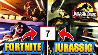 An diesem Tag kommt JURASSIC PARK/WORLD zu FORTNITE!! (Dinos) - Fortnite Battle Royale