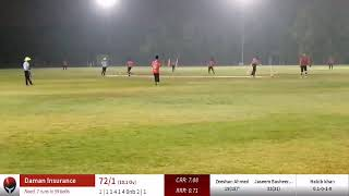 Live Cricket Match   B,W, CRICKET CLUB vs Daman Insurance   19-Oct-19 12:02 AM 20 overs   Abu Dh...