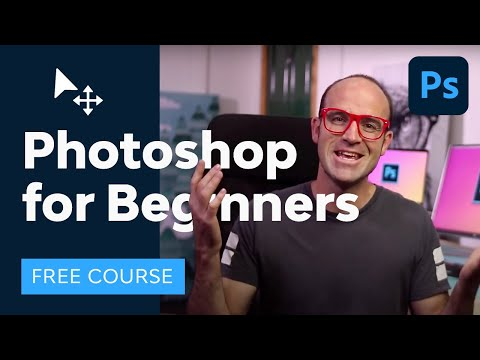 Photoshop for Beginners | FREE COURSE