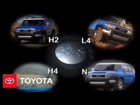 FJ Cruiser How-To: Part-Time 4-Wheel Drive System Overview | 2007 - 2009 FJ Cruiser | Toyota