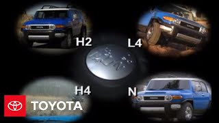 2007 - 2009 Fj Cruiser How-To: Part-Time 4-Wheel Drive System Overview | Toyota