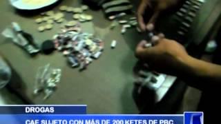 DETENIDO: Cae microcomercializador de drogas - Antena Norte Noticias