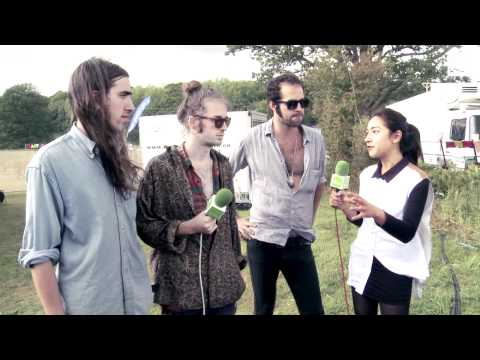 Crystal Fighters Interview with Spotify at The Big Chill 2011