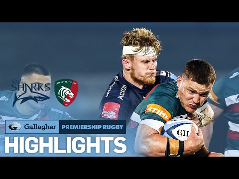 Sale v Leicester - HIGHLIGHTS | AJ Macginty Stars at the AJ Bell! | Gallagher Premiership 2020/21