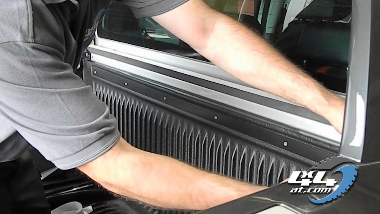 Ford Ranger Wildtrak Soft Tonneau Cover Video Installation ...