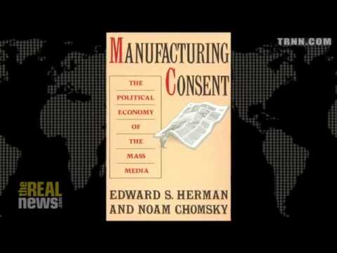 "Edward S Herman Co-Author of ""Manufacturing Consent"" ""The Politics of Genocide""  Pt 1"