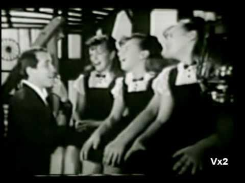 Perry Como &  The Kane Triplets:  Inch Worm 1961
