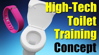 High-Tech Toilet Training Concept