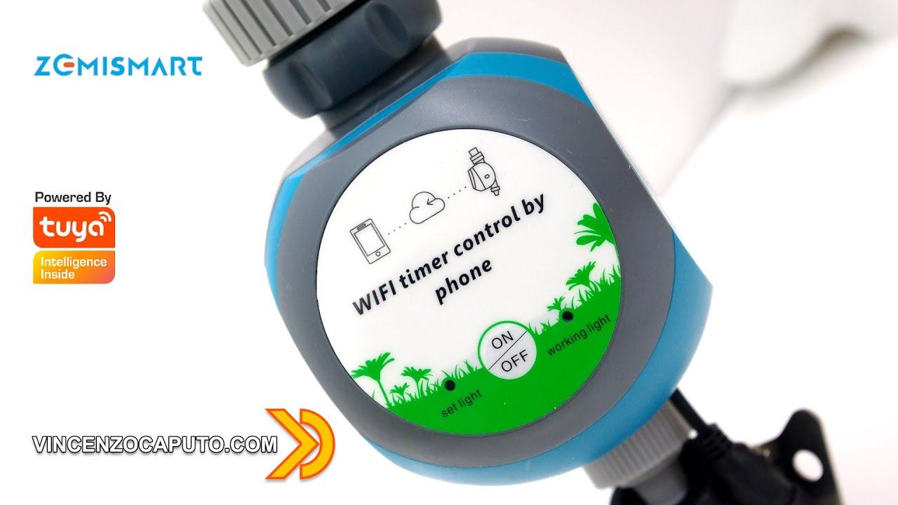 Irrigazione Smart compatibile con Smart Life By Zemismart