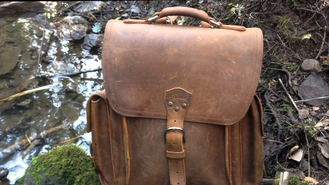 BestLeather.org - Saddleback Leather Squared Backpack Review - EP2 ...