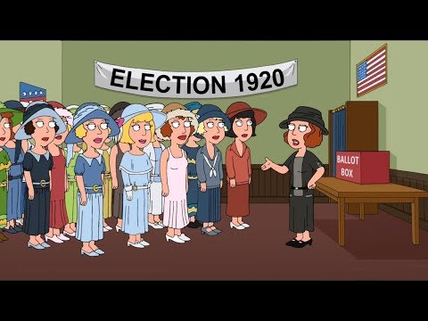 Family Guy - Women's Right To Vote