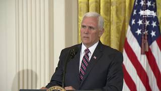 vice president pence delivers remarks at the prison reform summit