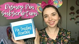 Pin Trading Monthly ~ Deluxe Box | Disney Pin Subscription Unboxing | Worth It?