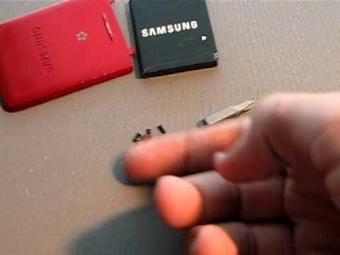 Samsung Blast take appart