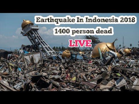 Live Indonesia Earthquake 2018