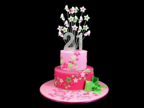 21st Birthday Cake Design For Her : 21st birthday cake ideas Inspired By Michelle Cake Designs ...