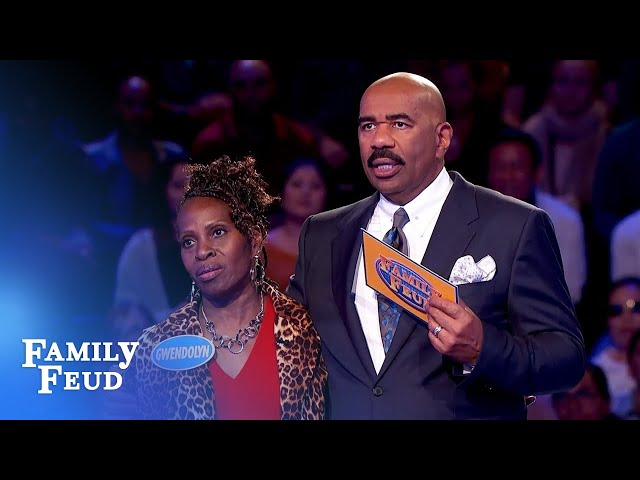 Can her three #1 answers save the day? | Family Feud