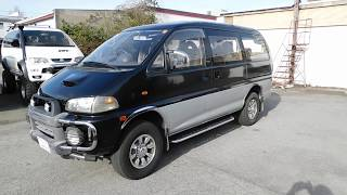 1995 Mitsubishi Delica L400 Royal Exceed Diesel 4WD 90 Miles (USA Import)