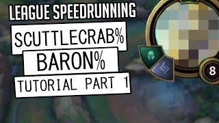 I tried speedrunning really weird categories in League of Legends