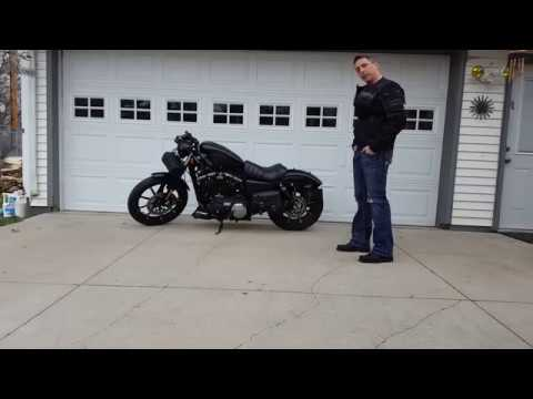2016 Harley Davidson Sportster Iron 883 Swing Arm Bag Review