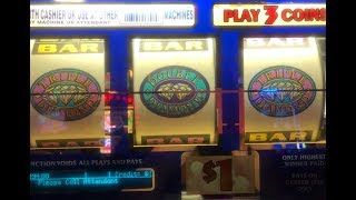 JACKPOT LIVE★Double Triple Diamond Slot Hand pay on Free Play ! San Manuel Casino, Akafuji slot