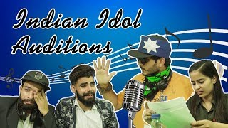 Indian Idol Auditions Qutiyapa |Funny| |HRzero8|