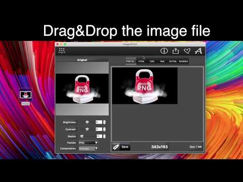 Image 2 Html App   Picture Embedding Tool For Web Site On MacOS And Windows