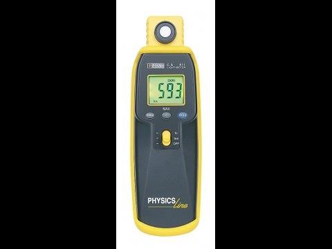 CA 811 lüksmetre / Işık şiddeti ölçüm cihazı