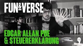 FUN&VERSE #9 – Edgar Allan Poe & Steuererklärung