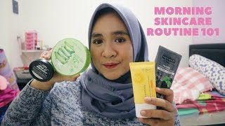 Morning Skincare Routine 101   kulit beruntusan   Dhea Rifa