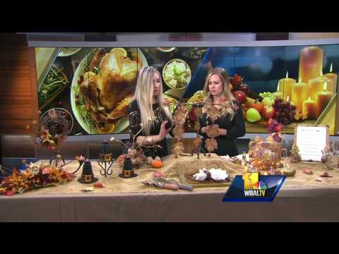 Decorating and craft ideas for Thanksgiving