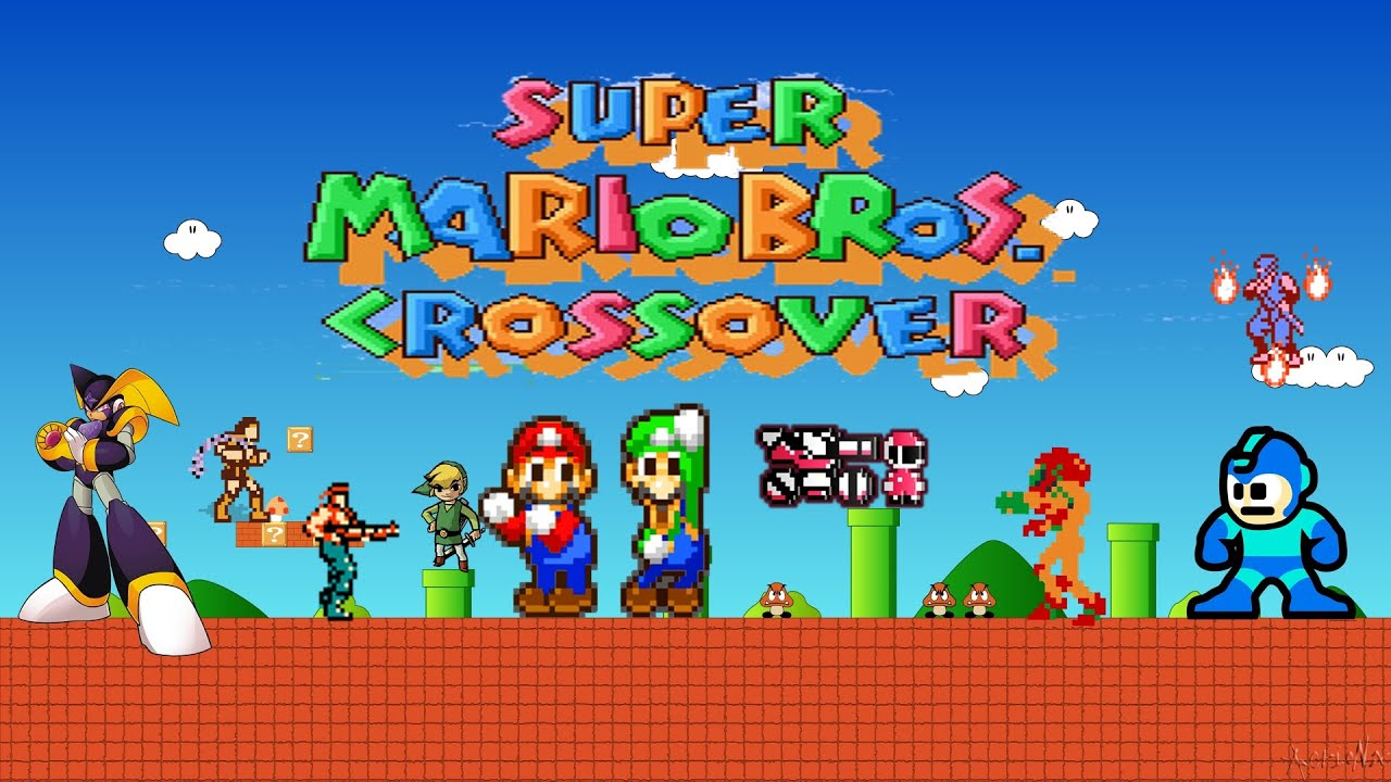 Play Super Mario Crossover 4 - Year of Clean Water