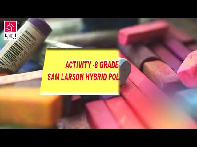 Digital Art & Craft Classes for Learners Grade- V    Activity- 8   Sam Larson Hybrid Polarbear