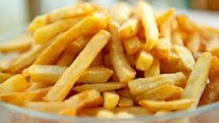 البطاطس المقرمشة اللذيذة للريجيم بدون قلى ولازيوت.