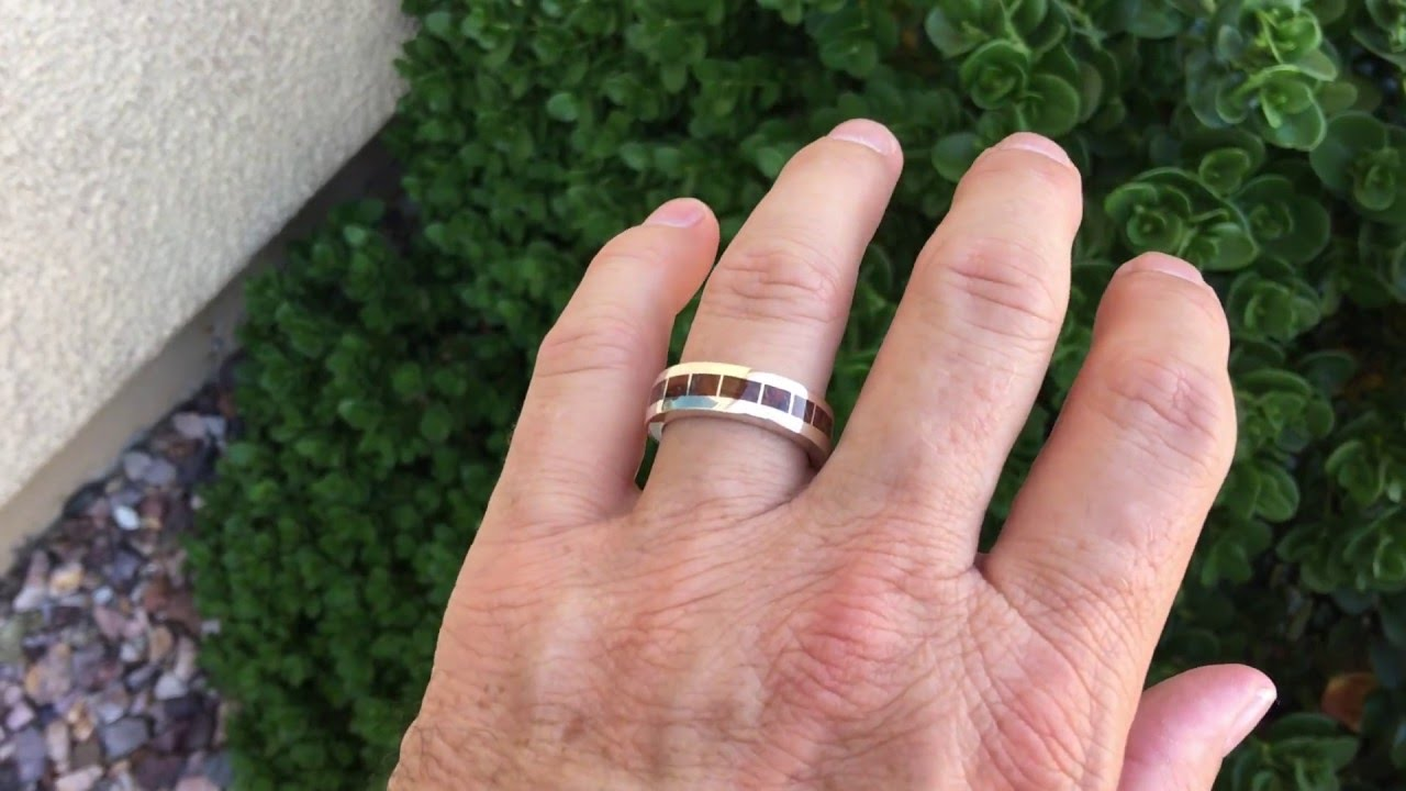 Dinosaur Bone Wedding Ring - YouTube