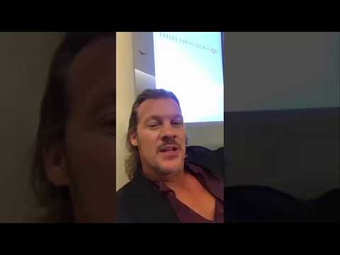 Chris Jericho Responds To Criticism