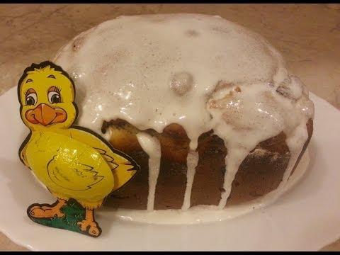 Пасхальный кулич в хлебопечке - рецепт с фото