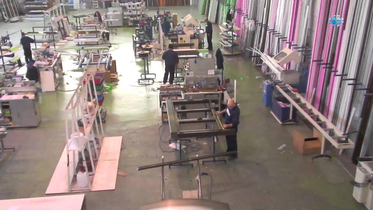 Fabricaci n distribuci n y montaje de aluminio madrid garc a tamayo youtube - Fabrica de floreros de vidrio ...