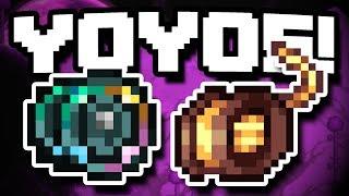 INSANE LATE GAME YOYOS! - Modded Terraria 1.3.5 - Ep.24