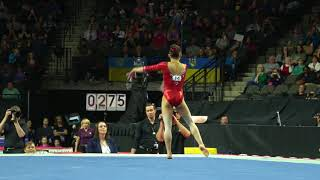 Morgan Hurd (USA) - Floor Exercise - 2018 American Cup