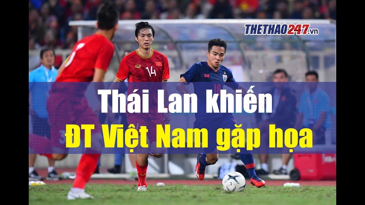 Số phận của đội tuyển Việt Nam nằm trong tay Thái Lan, nguy cơ lớn đã xuất hiện | Thể Thao 247