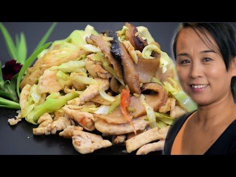 Stir Fry Chicken & Cabbage (Chinese Chicken & Cabbage Stir-Fry Recipe)
