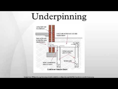 Underpinning