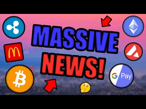 PARABOLIC MOVE COMING! GOOGLE BUYS INTO CRYPTOCURRENCY! MCDONALD'S NFT LAUNCH! [BTC, ETH, XRP News]