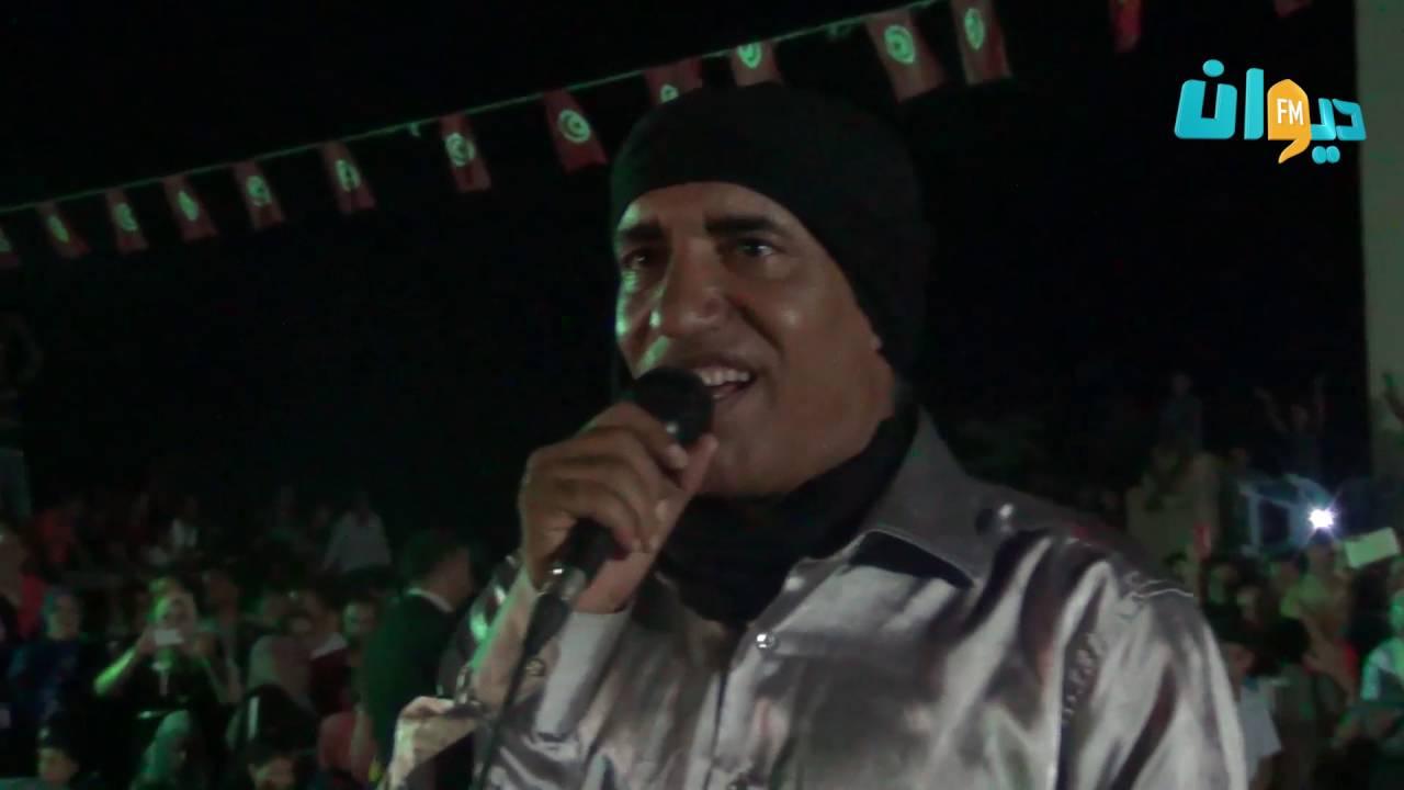 بلقاسم بوقنة في إختتام مهرجان  سيدي امحمد بن عمر بالحنشة