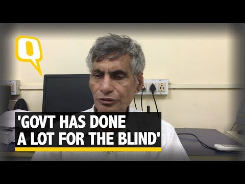 'Government Has Done a Lot for the Blind': 50-Year-Old Coordinator | The Quint