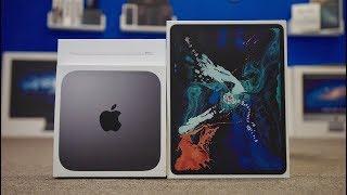 "12.9"" iPad Pro & 6-core Mac Mini Unboxing!"